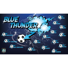 Blue Thunder Custom Vinyl Banner