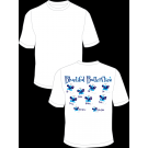 Bluetiful Butterflies Practice T-Shirt