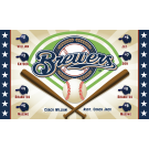 Brewers Custom Vinyl Banner