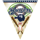 Brewers Triangle Individual Team Pennant