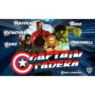 Captain Ladera Custom Vinyl Banner