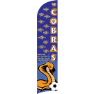 Cobras Custom Double-Sided Team Wind Flag
