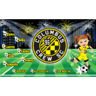 Columbus Crew SC (Girls) Custom Vinyl Banner