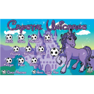 Crystal Unicorns Custom Vinyl Banner