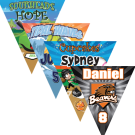 Create Your Own  Triangle Individual Team Pennant