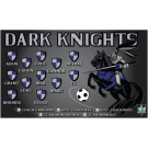 Dark Knights Custom Vinyl Banner
