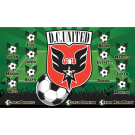 DC United Custom Vinyl Banner