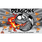 Dragons Custom Vinyl Banner