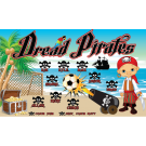 Dread Pirates Custom Vinyl Banner