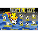 Electric Eels Custom Vinyl Banner