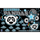 Electric Pandas Custom Vinyl Banner