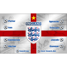 Engalnd National Team Custom Vinyl Banner