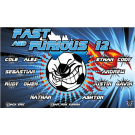 Fast and Furious 12 Custom Vinyl Banner