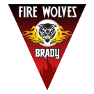 Fire Wolves Triangle Individual Team Pennant