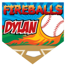 Fireballs (Alternate) Home Plate Individual Team Pennant