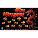 Fire Dragons Custom Vinyl Banner