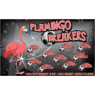 Flamingo Breakers Custom Vinyl Banner
