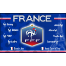 France National Team Custom Vinyl Banner