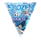 Frozen Triangle Individual Team Pennant