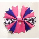 Bubblegum and Royal Blue Ponytail Holder