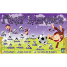 Funky Monkeys Custom Vinyl Banner