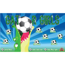 Gator Girls Custom Vinyl Banner