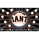 Giants Custom Vinyl Banner