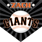 Giants Custom Home Plate Banner