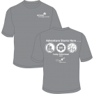 "Camp Scherman ""Adventure Starts Here"" Shirt"