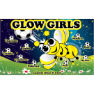Glow Girls 1 Custom Vinyl Banner