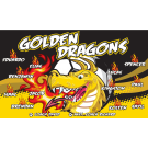 Golden Dragons 1 Custom Vinyl Banner