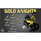 Gold Knights Custom Vinyl Banner