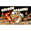 Golden Dragons (Alternate) Custom Vinyl Banner