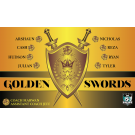 Golden Swords 2 Custom Vinyl Banner