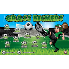 Grass Kickers Custom Vinyl Banner
