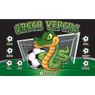 Green Vipers 2 Custom Vinyl Banner