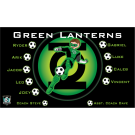 Green Lanterns Custom Vinyl Banner