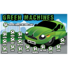 Green Machines Custom Vinyl Banner