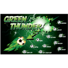 Green Thunder Custom Vinyl Banner