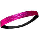 Custom Glitter Headband - Dark Pink