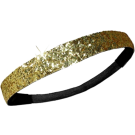 Custom Glitter Headband - Gold