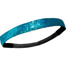Custom Glitter Headband - Teal