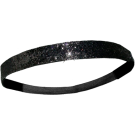 Custom Glitter Headband - Black