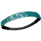 Custom Glitter Headband - Light Blue