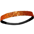 Custom Glitter Headband - Orange