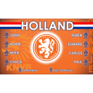Holland 1 National Team Custom Vinyl Banner