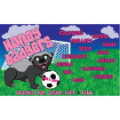 Honey Badgers Custom Vinyl Banner