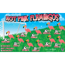 Hot Pink Flamingos Custom Vinyl Banner