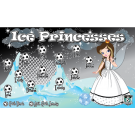 Ice Princesses (Alternate) Custom Vinyl Banner