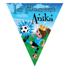 Ice Princesses (Alternate) Triangle Individual Team Pennant